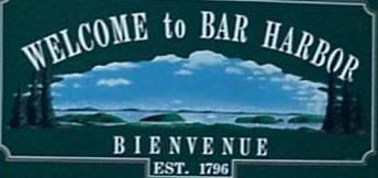 Bar Harbor Sign